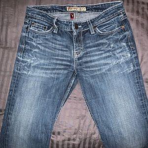 EUC BKE Kate Boot Cut Jeans Size 27.